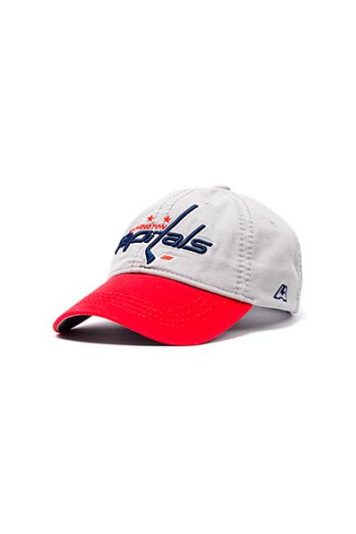 Бейсболка NHL Washington Capitals серая-1200